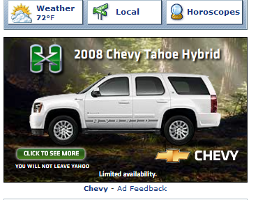 Earth Day Chevrolet Tahoe Hybrid