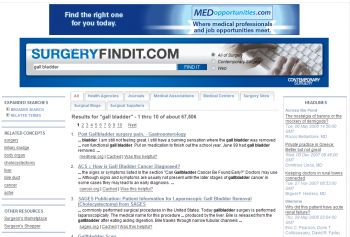 SurgeryFindIt Search Engine Search Results