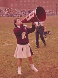 Cheerleader Megaphone  Vizion Interactive