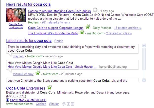 coca-cola-real-time-search