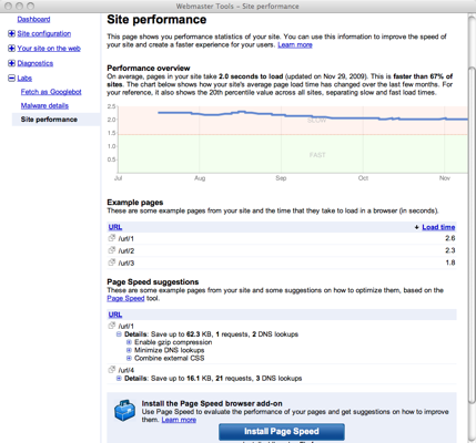 google-webmaster-tools-site-performance