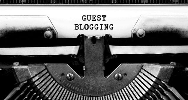 guest blogging - it's still highly relevant