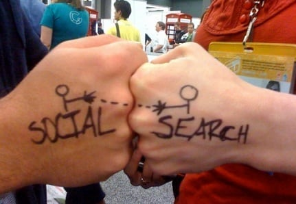 paid search, social media