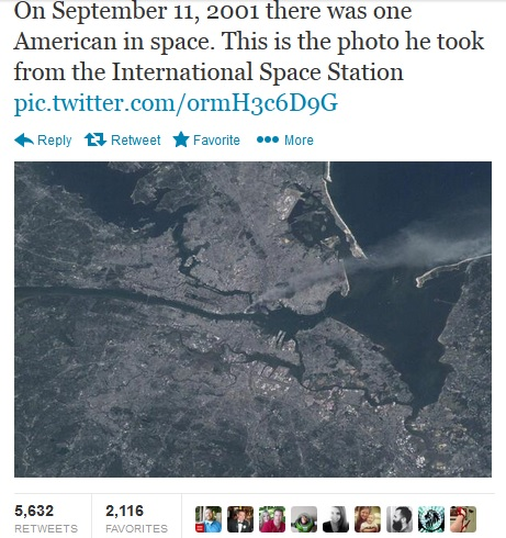 911 image from space
