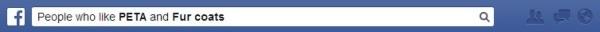 Facebook search peta fur coats
