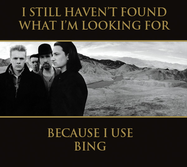 Bing Search Joke