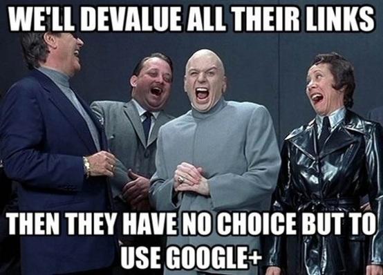 google+ for link building