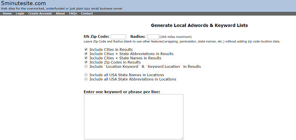 Local-Keywords