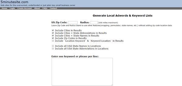 Local-Keywords
