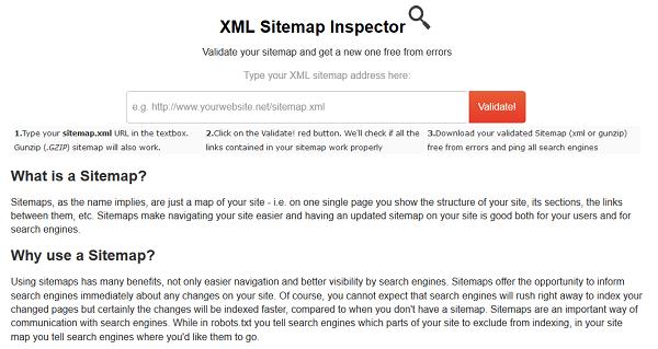XML-Sitemap-Inspector