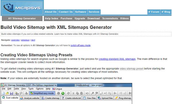 XML-Video-Sitemap