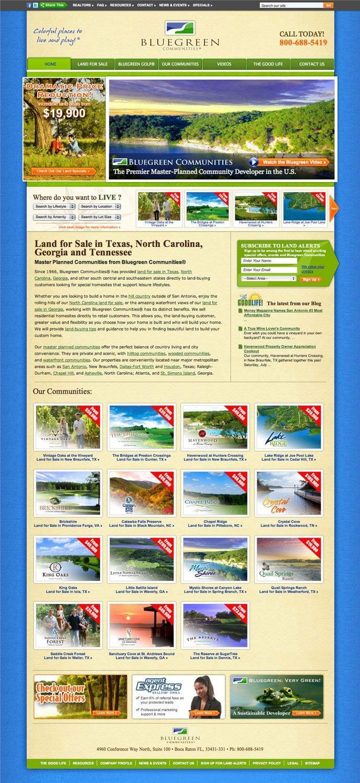 Bluegreen site screenshot