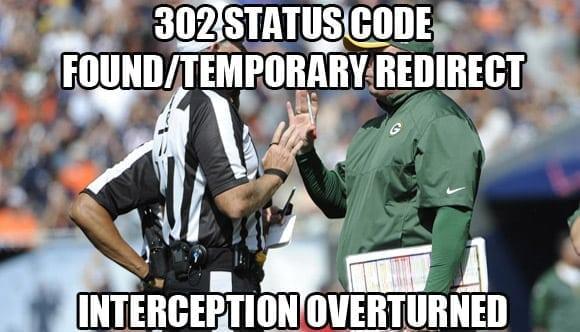 302 temporary redirect