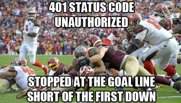 401 unauthorized