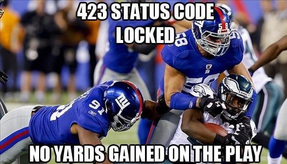 423 locked