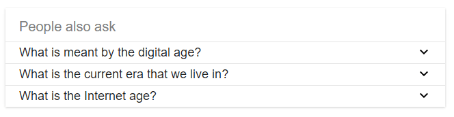 related-questions-information-age