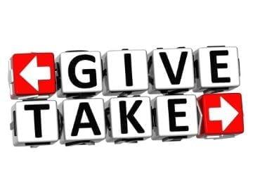 give and take vizion