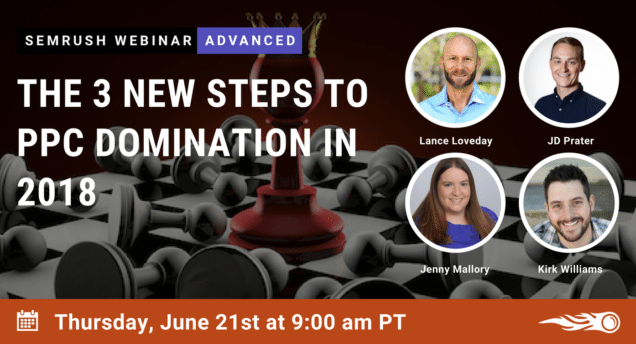 Advanced Ppc Sign Up Now for the PPC Domination Webinar with SEM Rush & Vizion – June 21st! Vizion Interactive