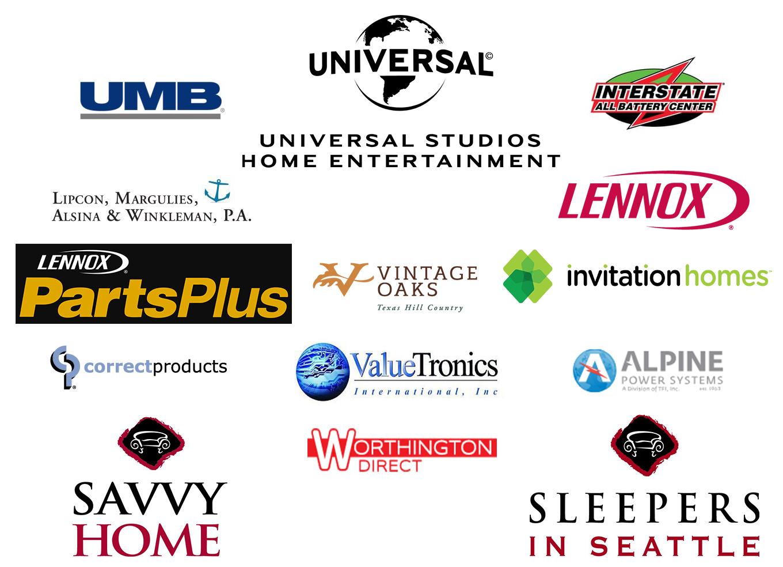 Vizion Client Logos Client Portfolio Vizion Interactive