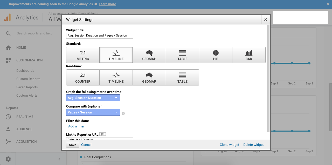 Image How to Set Up Your Google Analytics Dashboard Vizion Interactive