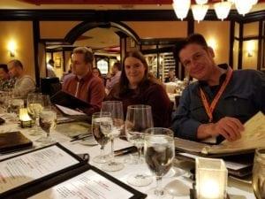Team Dinner Conf Mark Jackson Vizion Interactive