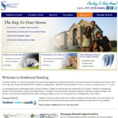 Southwest Funding Portfolio Southwest Funding Vizion Interactive