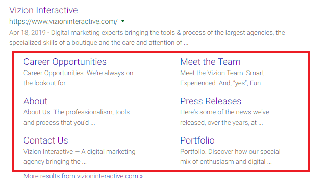 Google Site Links: Best Practices for Your Business