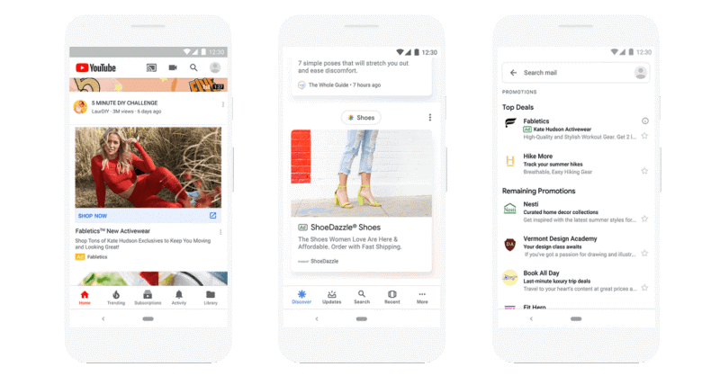 Discovery Ads Google Marketing Live 2019: Recap & On Demand Viewing Vizion Interactive