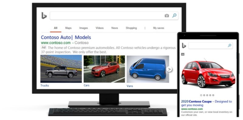 Microsoft Ads New Multi-Image Extensions