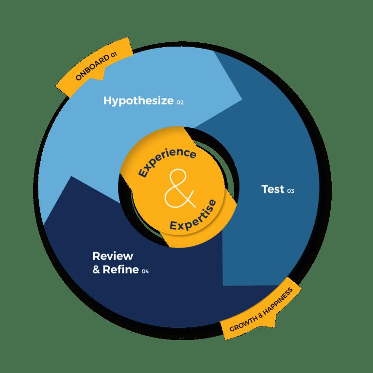 Process Wheel Conversion Rate Optimization (CRO) Services Vizion Interactive