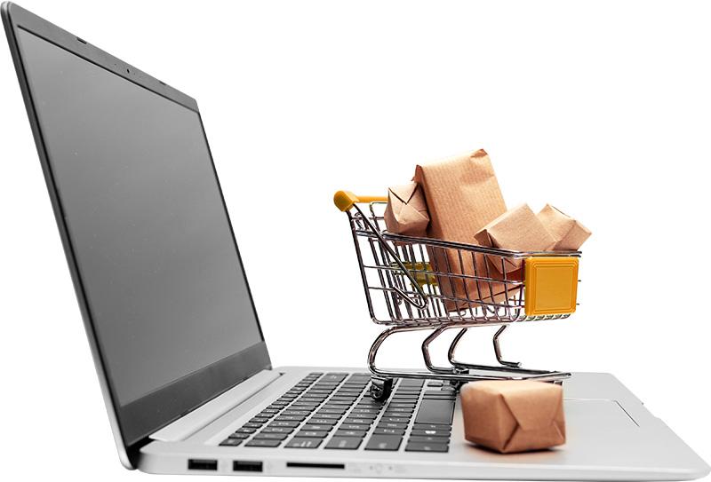 Laptop Cart Amazon Advertising Services Vizion Interactive